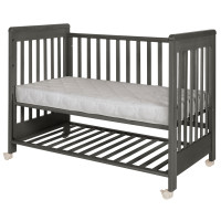 Treppy Dreamy Plus 2 Beistellbett 60x120, Woody Gray
