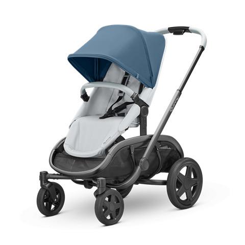 Quinny Kinderwagen Hubb Blue Coral on Grey