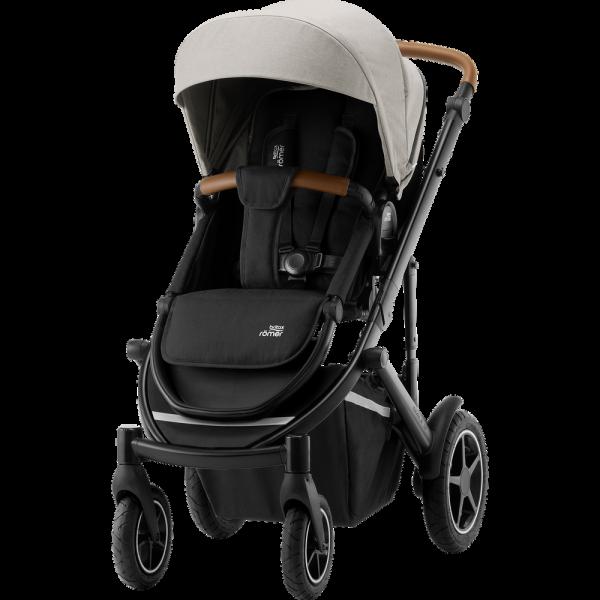 Britax Römer Premium Kinderwagen Smile III Beige, Black Kollektion 2020