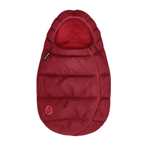 Maxi Cosi Fußsack für Babyschalen Essential Red Kollektion 2020