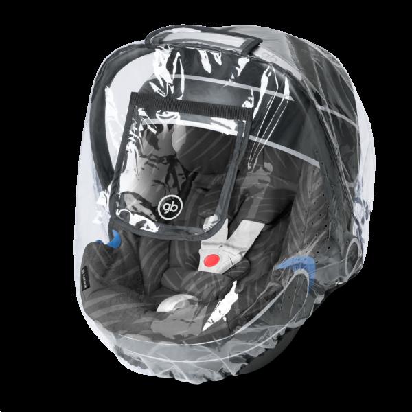 GB Platinum Regenverdeck für Kinderautositz Transparent