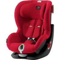 Britax Römer Premium King II LS Black Series Kollektion 2020 Fire Red