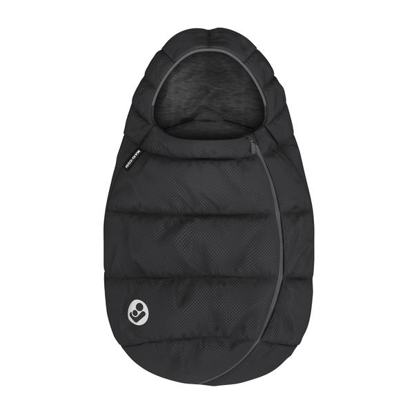 Maxi Cosi Fußsack für Babyschalen Essential Black Kollektion 2020