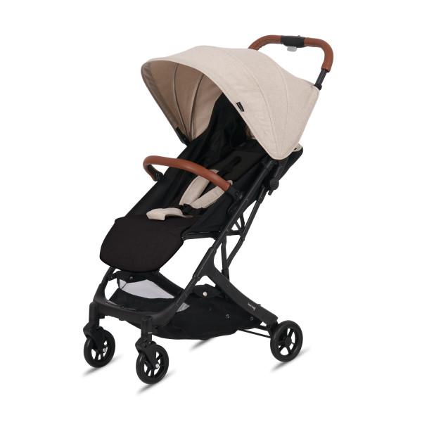 Knorr Baby Buggy B-Easy Fold Crema Gestell Schwarz Kollektion 2020