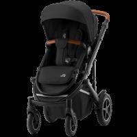 Britax Römer Premium Kinderwagen Smile III Space Black, Brown Handle Kollektion 2021