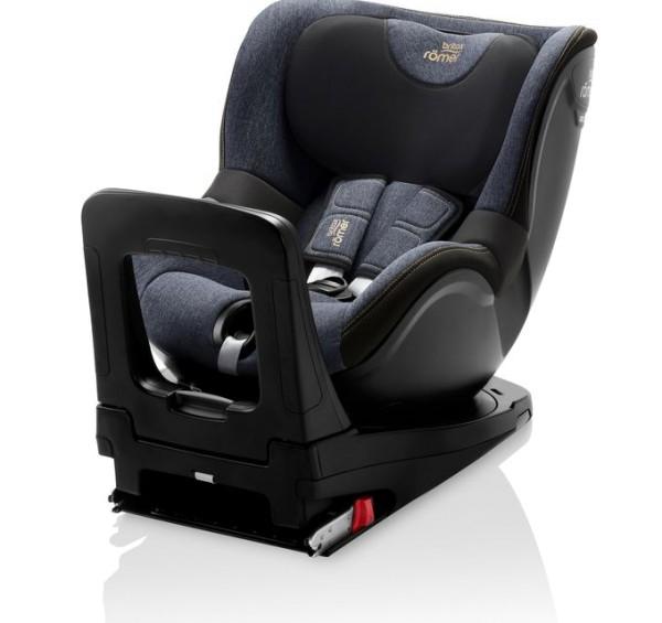 Britax Römer Premium Kindersitz Dualfix M i-Size Kollektion 2021 Blue Marble