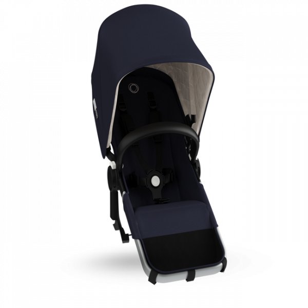 Bugaboo Donkey 3 Classic duo extension complete ALU / DARK NAVY
