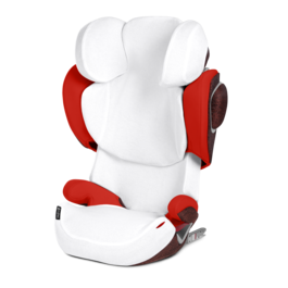 Cybex Solution Z-Fix Sommerbezug White