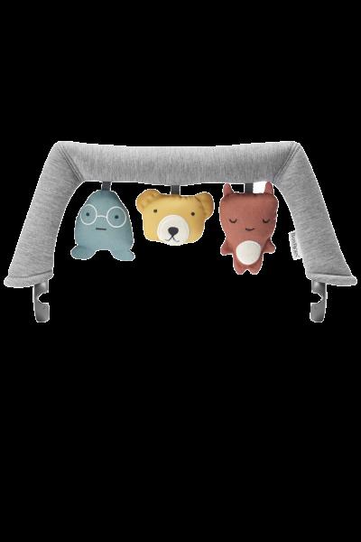 BabyBjörn Spielzeug für Babywippe Weiche Freunde