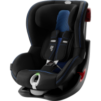 Britax Römer Premium King II LS Black Series Kollektion 2020 Cool Flow Blue