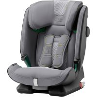 Britax Römer Premium Kindersitz Advansafix I-Size Cool Flow Silver