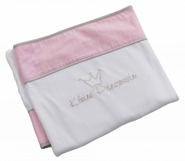 Be Be's Collection 250-60 Nicki-Schmusedecke Prinzessin neu 75 x100 cm rosa