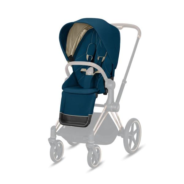 CYBEX Platinum Priam Seat Pack Mountain Blue Kollektion 2021