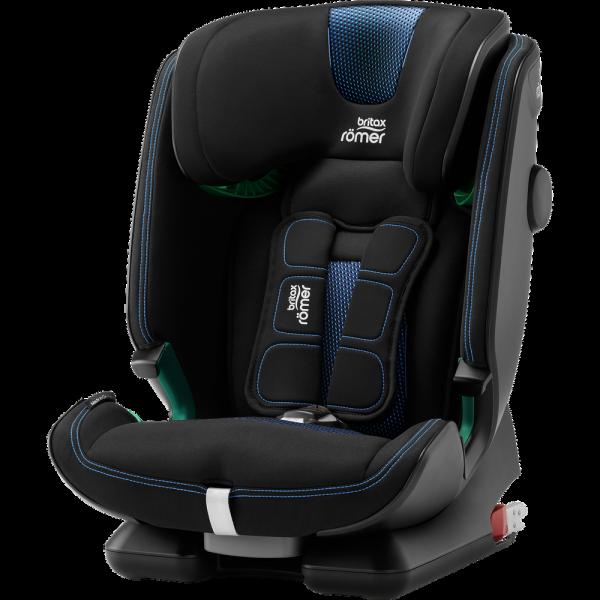 Britax Römer Premium Kindersitz Advansafix I-Size Cool Flow Blue