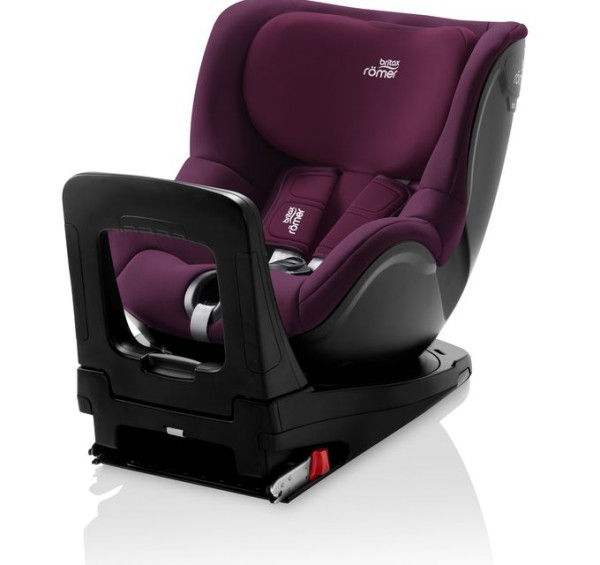Britax Römer Premium Kindersitz Dualfix M i-Size Kollektion 2021 Burgundy Red