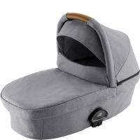 Britax Römer Premium Smile III Kinderwagenaufsatz Frost Grey, brown Handle