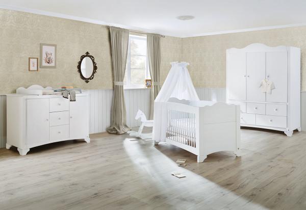 Kinderzimmer Pino extrabreit groß mit 3 Türen