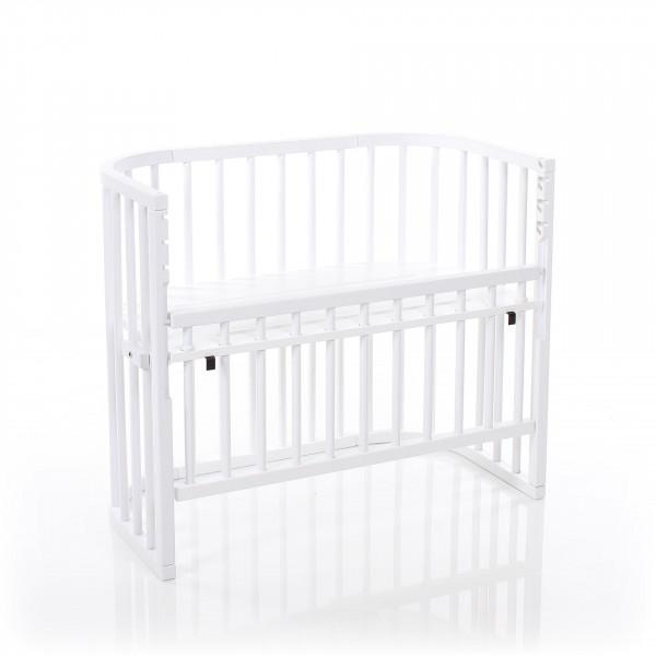 Tobi Babybay Comfort Beistellbett weiß lackiert, extra belüftet