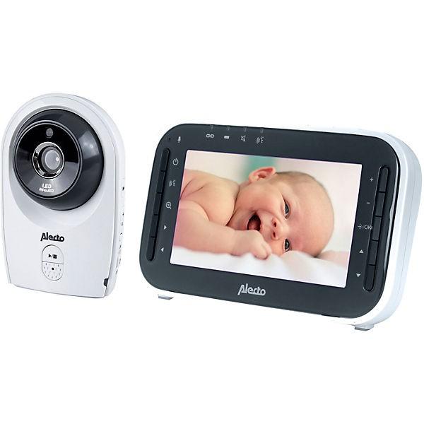 """Alecto DVM-143 - Video-Babyphone mit 4.3""""-Farbdisplay, weiß/anthrazit"""