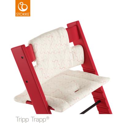 STOKKE® Tripp Trapp Sitzkissen Geometric Red 100349 -Solange Vorrat reicht!-