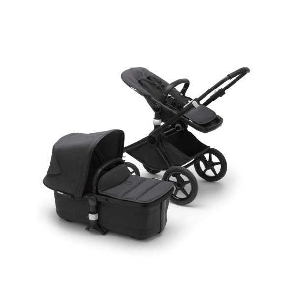 Bugaboo Fox 2 Mineral complete BLACK / WASHED BLACK