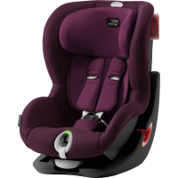 Britax Römer Premium King II LS Black Series Kollektion 2020 Burgundy Red