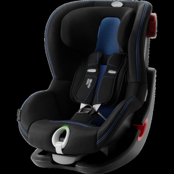 Britax Römer Premium King II LS Black Series Kollektion 2021 Cool Flow Blue