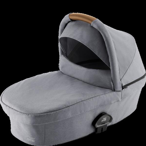 Britax Römer Premium Smile III Kinderwagenaufsatz Frost Grey, brown