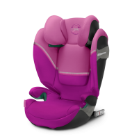 CYBEX Solution S2 i-Fix Magnolia Pink