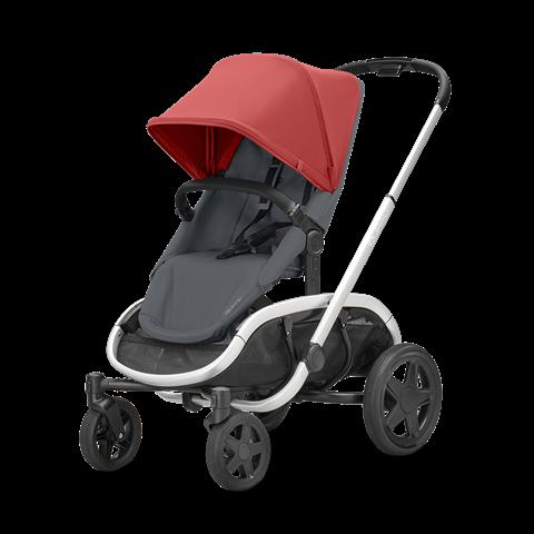 Quinny Kinderwagen Hubb Red on Graphite