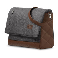 ABC Design Wickeltasche Urban Diamond asphalt Kollektion 2021