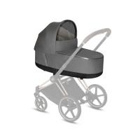 CYBEX Platinum Priam Lux Kinderwagenaufsatz Plus Manhattan Grey Plus Kollektion 2021
