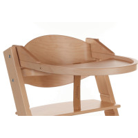 Treppy Ess- und Spielbrett, Playtray Natural