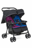 Joie Zwillingsbuggy Aire Twin Kollektion 2019 Rosy & Sea