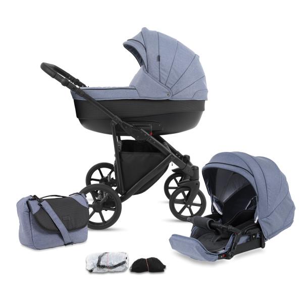 Knorr Baby Kombi-Kinderwagen MADEIRA Blau Kollektion 2021