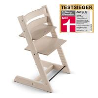 STOKKE Tripp Trapp ® Mitwachsstuhl Weiß transparent