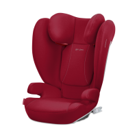 CYBEX Silver SOLUTION B2-FIX Dynamic Red | mid red