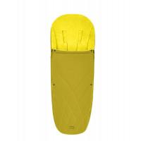 CYBEX Platinum Fußsack Mustard Yellow Kollektion 2021