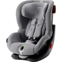 Britax Römer Premium King II LS Black Series Kollektion 2020 Cool Flow Silver