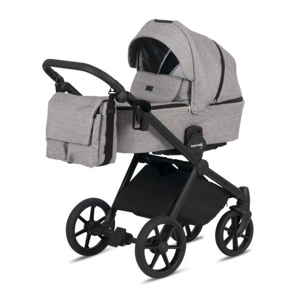 Knorr Baby Kombi-Kinderwagen LIFE+ 2.0 Black Edition Graphit Kollektion 2021