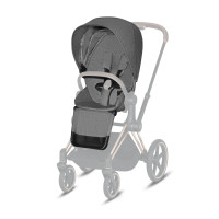 CYBEX Platinum Priam Seat Pack Plus Manhattan Grey Plus Kollektion 2021